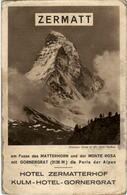Zermatt - Hotel Zermatterhof - VS Valais