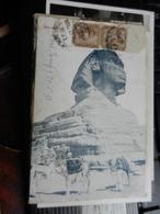 19808) LE SPINX SPYNX VIAGGIATA 1913 - Sfinge