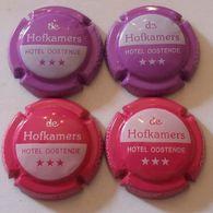 4 BELLES CAPSULES CHAMPAGNE HERBERT DIDIER HOFKAMMERS NEWS - Champagne