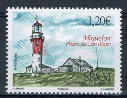 Saint Pierre And Miquelon, Cap Blanc Light, Miquelon, 2017, MNH VF - Unused Stamps