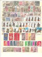 VRAC MONDE (hors France) + De 800 Timbres Oblitérés Grands Formats (Espagne, Suède, Belgique, Danemark, Suisse, Nor- 008 - Stamps