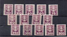 DANTZIG 1921-3 * - Dantzig
