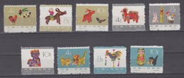 PR CHINA 1963 - Chinese Folk Toys MNH** 1 Stamp Damaged - 1949 - ... République Populaire