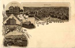 Gruss Aus Flawil - Litho - SG St. Gall