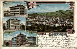 Gruss Aus Degersheim - Litho - SG St. Gall