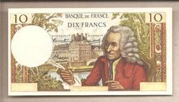 """Francia - Banconota Fax-Simile Da 10 Franchi Serie """"I Facsimili Da Tutto Il Mondo"""" - 1968 - France"""