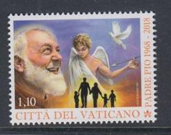1.- VATICAN CITY 2018 50 ANNIVERSARY OF DEATH FATHER PIO - Vaticano (Ciudad Del)