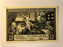 Allemagne Notgeld Bitterfeld 75 Pfennig - 1918-1933: Weimarer Republik
