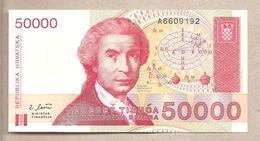 Croazia - Banconota Circolata Da 50.000 Dinari P-26a - 1993 - Croazia