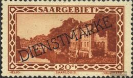 Saar D24 With Hinge 1929 Landscapes - Officials