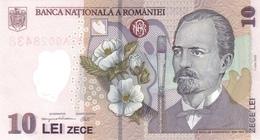 Romania P.119  10 Lei  2005  Unc - Romania