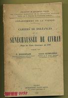 86 Sénéchaussée De Civray ( Vienne ) 1925 Usson, Joussé, Champniers, Brux, Melle, Vitré, Imprimerie Saint Denis Niort - Poitou-Charentes
