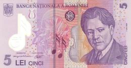 Romania P.118  5 Lei  2005  Unc - Romania