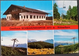 Ak Italien -  Ritten - Gasthaus Schwarzseespitze - Rittnerhorn - Bolzano (Bozen)