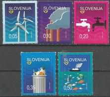 SI 2018-23 Save Nature, SLOVENIA, 1 X 5v, MNH - Natur