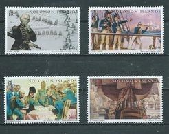SALOMON  Yvert  N° 1073-1076-1077-1078  ** - Salomon (Iles 1978-...)