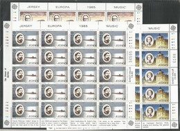 20x JERSEY - MNH - Europa-CEPT - Famous People - 1985 - 1985
