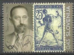 SI 2018-27 VERIGARI, SLOVENIA, 1 X 1v, MNH - Briefmarken Auf Briefmarken