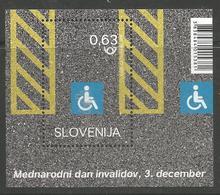 SI 2018-29 INVALIDES SLOVENIA, S/S, MNH - Handicaps