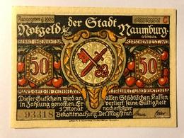 Allemagne Notgeld Naumburg 50 Pfennig - Collections