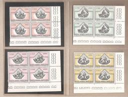 Vaticano - Serie Completa Nuova In Quartina: I Quattro Evangelisti - 1971 * G - Vatican