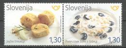 SI 2018-31 GASTRONOMY SLOVENIA, 1 X 2v, MNH - Ernährung