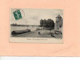 Carte Postale - NEVERS - D58 - Tour De Goguin Et Pont De Loire - Nevers