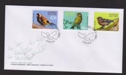 3.- CYPRUS 2018 FDC BIRDS OF CYPRUS - Cyprus (Republic)