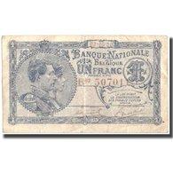 Billet, Belgique, 1 Franc, 1920, 1920-05-03, KM:92, TB - [ 2] 1831-... : Regno Del Belgio