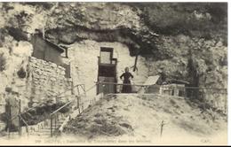 Seine-Maritime Dieppe Habitation De Troglodytes Dans Les Falaises Carte Postale Postcard - Dieppe