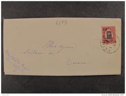 """4379 ITALIA Regno-1878- """"Ondine"""" C. 2 Su 0,30 PERUGIA>TUORO (descrizione) - 1861-78 Vittorio Emanuele II"""