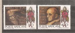 Vaticano - Serie Completa Nuova: 80 Genetliaco Di Paolo VI - 1978 * G - Vatican