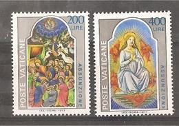 Vaticano - Serie Completa Nuova: Solennità Dell'Assunzione - 1977 * G - Vatican