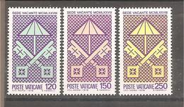Vaticano - Serie Completa Nuova: Sede Vacante - 1978 * G - Vatican