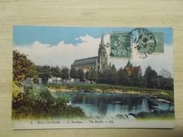 CPA Original:  Bon-Secours - La Basilique - The Basilic - Bonsecours