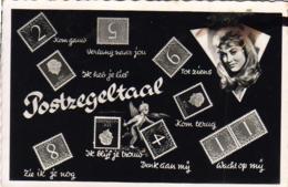 LANGAGE DES TIMBRES   POSTZEGELTAAL  ........... Avec Angelot - Stamps (pictures)