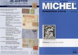 Briefmarken MICHEL-Rundschau 6/2018 Neu 6€ Stamps Of The World Catalogue/magacine Of Germany ISBN 978-3-95402-600-5 - Magazines