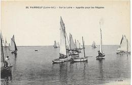 Paimboeuf Sur La Loire Apprets Pour Les Regates - Paimboeuf