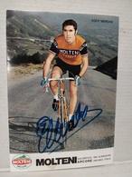 Eddy Merckx. Alimentari Molteni. Signée - Cyclisme