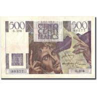 France, 500 Francs, 500 F 1945-1953 ''Chateaubriand'', 1948, 1948-05-13, TTB - 1871-1952 Gedurende De XXste In Omloop