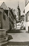 (81)  CPSM Basel Petersgasse Und St Peter Kirche  (Bon Etat) - BL Bâle-Campagne