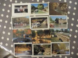 LOT  DE 12  CARTES POSTALES   NEUVES   DU  CANAL  DU  MIDI - Cartes Postales