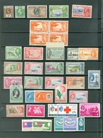 CAYMAN LOT Of 45 Incl. 2 SETS MOSTLY MINT(A FEW MNH)Royals Views Red Cross Peace Constitution More WYSIWYG  A04s - Cayman Islands