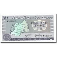 Billet, Rwanda, 50 Francs, 1976, 1976-01-01, KM:7c, NEUF - Ruanda