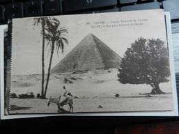 19808) PIRAMIDE CHEOPE CHEOPS VIAGGIATA 1930 - Piramidi