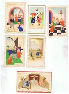 JM16.11 / BELLE SERIE 6 X IMAGES  RELIGIEUSES  /  ENFANTS - Devotieprenten