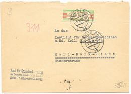 DDR ZKD Brief Wertstreifen EF Mi.31 Amt Für Standardisierung Berlin 1960 - [6] Democratic Republic