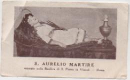 Santino Di Sant'Aurelio Martire Venerato Nella Basilica Di San Pietro In Vincoli A Roma - Santini