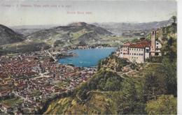AK 0081  Como - S. Donato / Vista Sulla Citta E Le Alpi ( Monte Rosa ) Um 1910 - Como