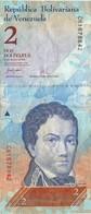 N. 1  Banconota  Del  VENEZUELA  Da 2  Bolivares  - Anno 2007. - Venezuela